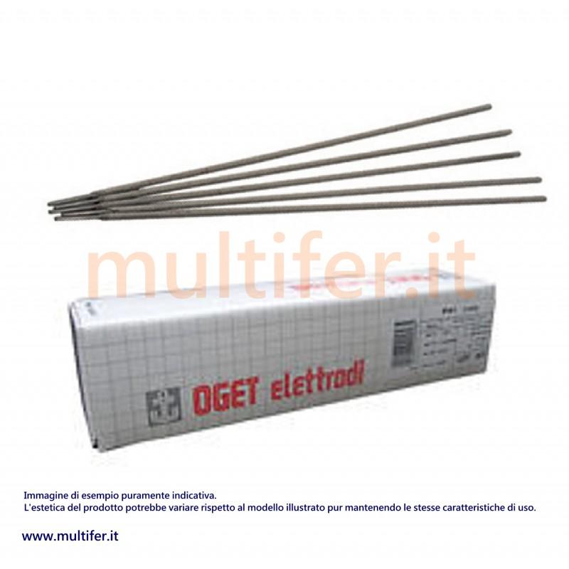 "Elettrodi per saldatura ""oget"" rutilici, basici, per ghisa, alluminio e acciaio inox - diametri ..."