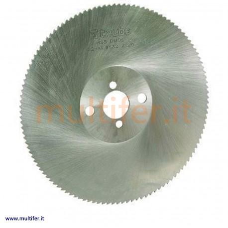 Lama circolare a disco per metallo (troncatrice lenta) in diametri e modelli vari (lame hss)