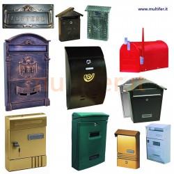Cassetta postale per lettere (cassette postali - Buca lettere) modelli vari.