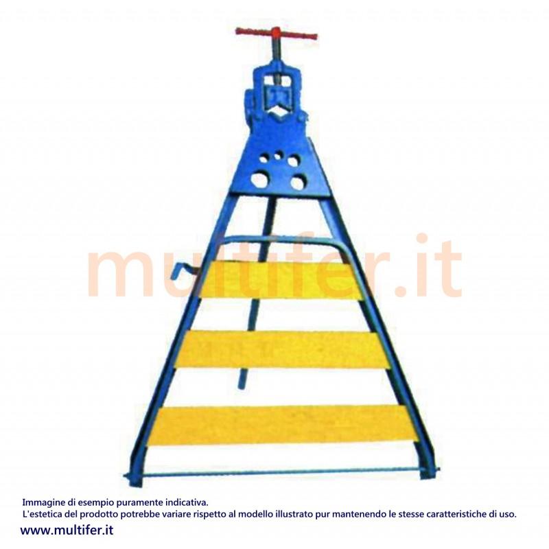 Banco per idraulici con base fissa e morsa ribaltabile 2 for Morsa da banco idraulica