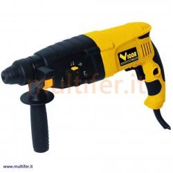 Trapano martello tassellatore con rotostop Sds-plus VBH26 Vigor 800 watt.