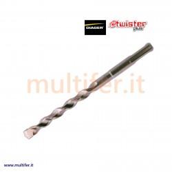Punte attacco SDS-plus Diager Twister per trapano a martello tassellatore - perforatore.