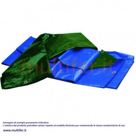 Telone occhiellato impermeabile pesante (125 gr-mq) (teli antistrappo in misure varie)