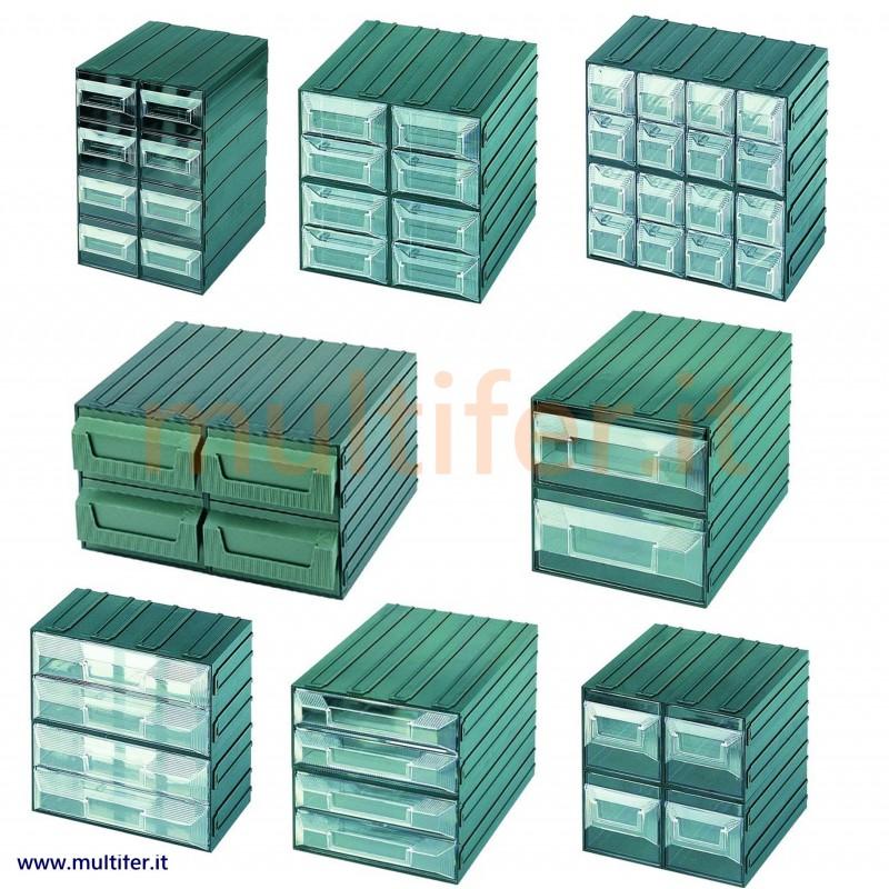 Terry Cassettiere In Plastica.Cassettiere Portaminuteria Componibili Terry Modelli Vari Multifer It