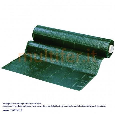 Telo polietilene verde per pacciamatura mt 10 x 2
