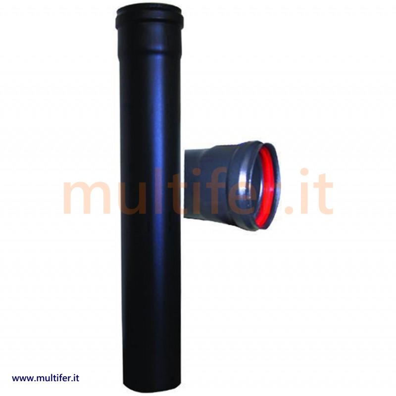 Tubo per stufa a pellet curva dn smaltato verniciato - Tubi per stufa a pellet prezzi ...