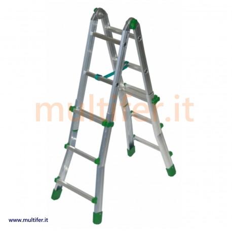 Scala alluminio professionale Facal eurobriko - altezze a scelta