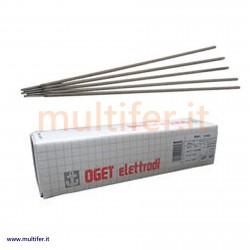"Elettrodi per saldatura ""oget"" rutilici, basici, per ghisa, alluminio e acciaio inox - diametri vari"